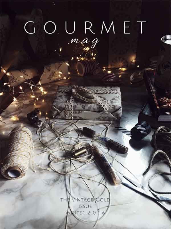 The Gourmet Mag, a food magazine for Italian food lovers_Winter 2017