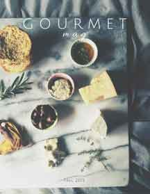 The Gourmet Mag, an Italian food magazine_Fall 2015