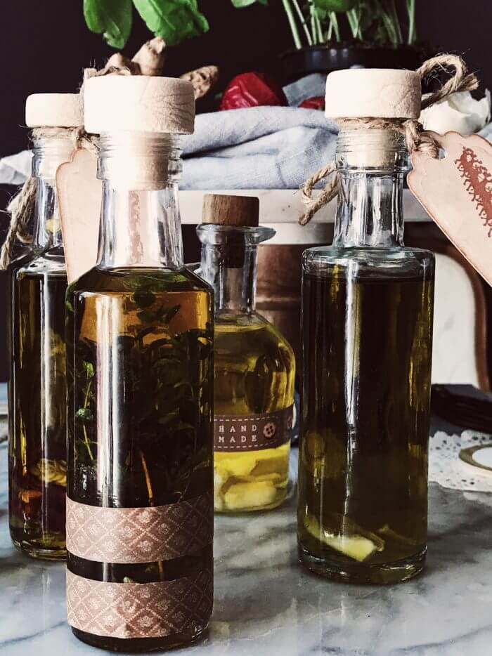 how to infuse olive oils with herbs and spices #gourmetproject