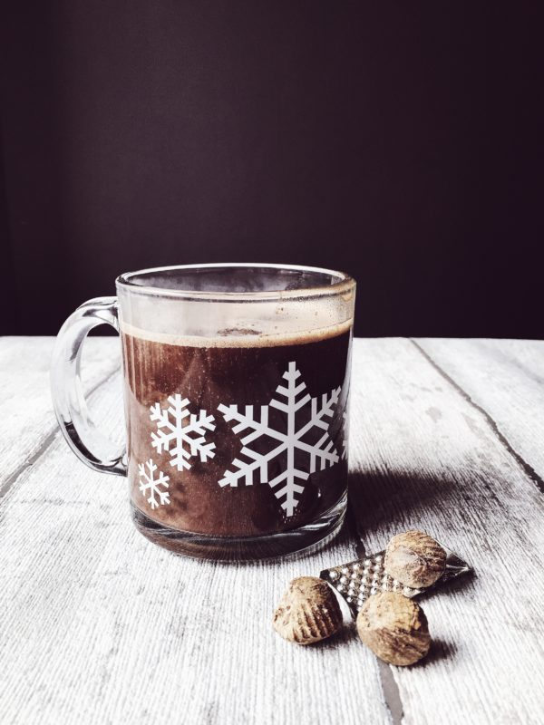 An Italian hot chocolate recipe with nutmeg and honey.