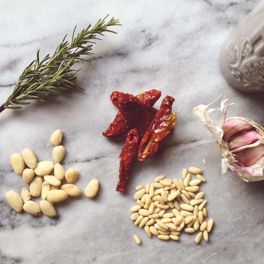 red pesto detox pasta gourmet italian detox