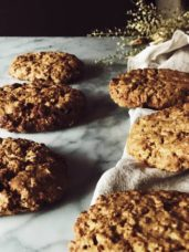 oatmeal raisin cookies with olive oil #gourmetproject #cookiesrecipe