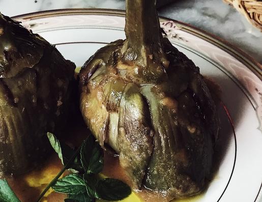 artichokes recipe from Rome