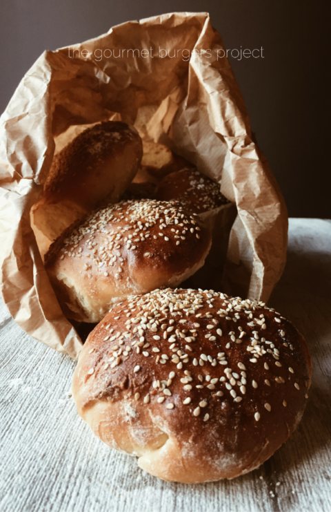 First recipe of the Gourmet Burgers Project: dairy free buns, so soft, you'll ask
