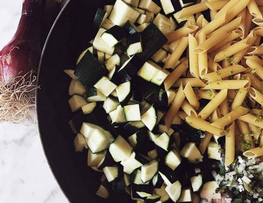 zucchini one pot pasta