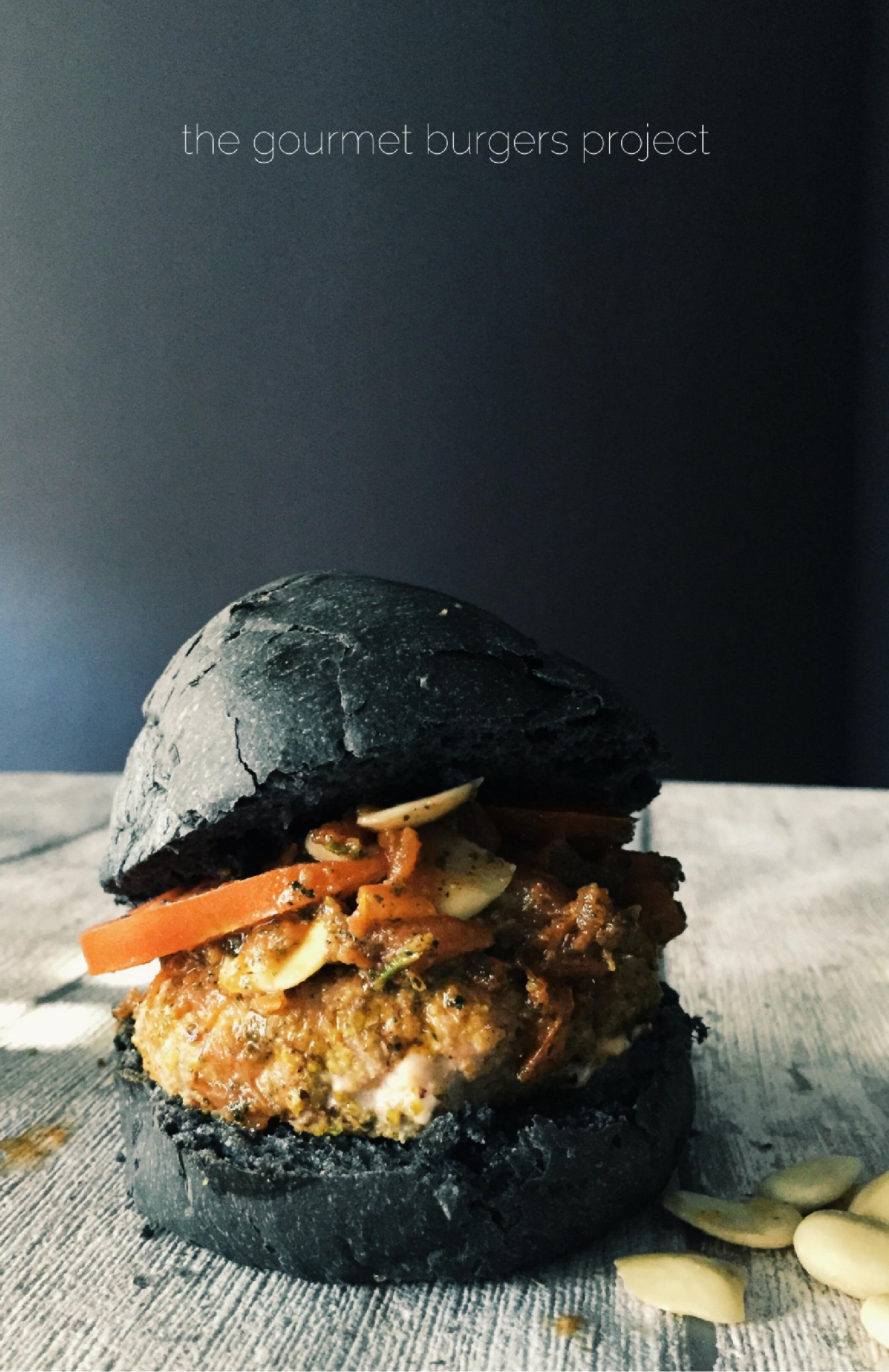 Italian burger recipes: the Sicilian tuna burger