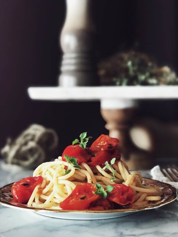oven roasted tomatoes sauce