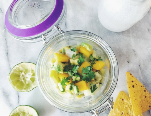 mango ceviche recipe by Gourmet Project