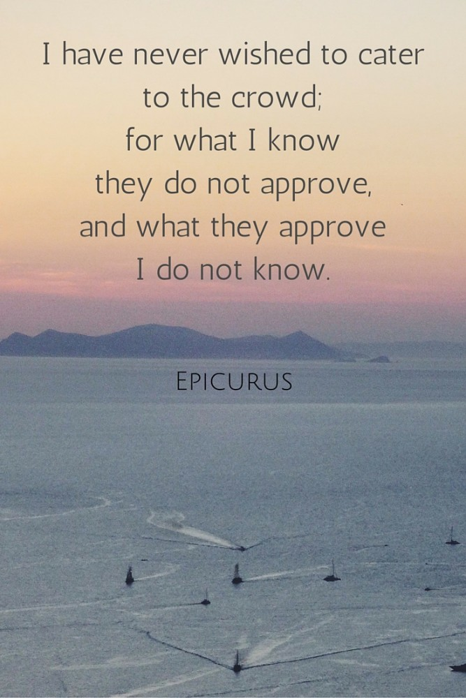i never wished _epicurus