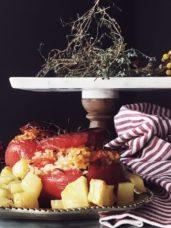 pomodori al riso recipe from Rome #gourmetproject #italianrecipes