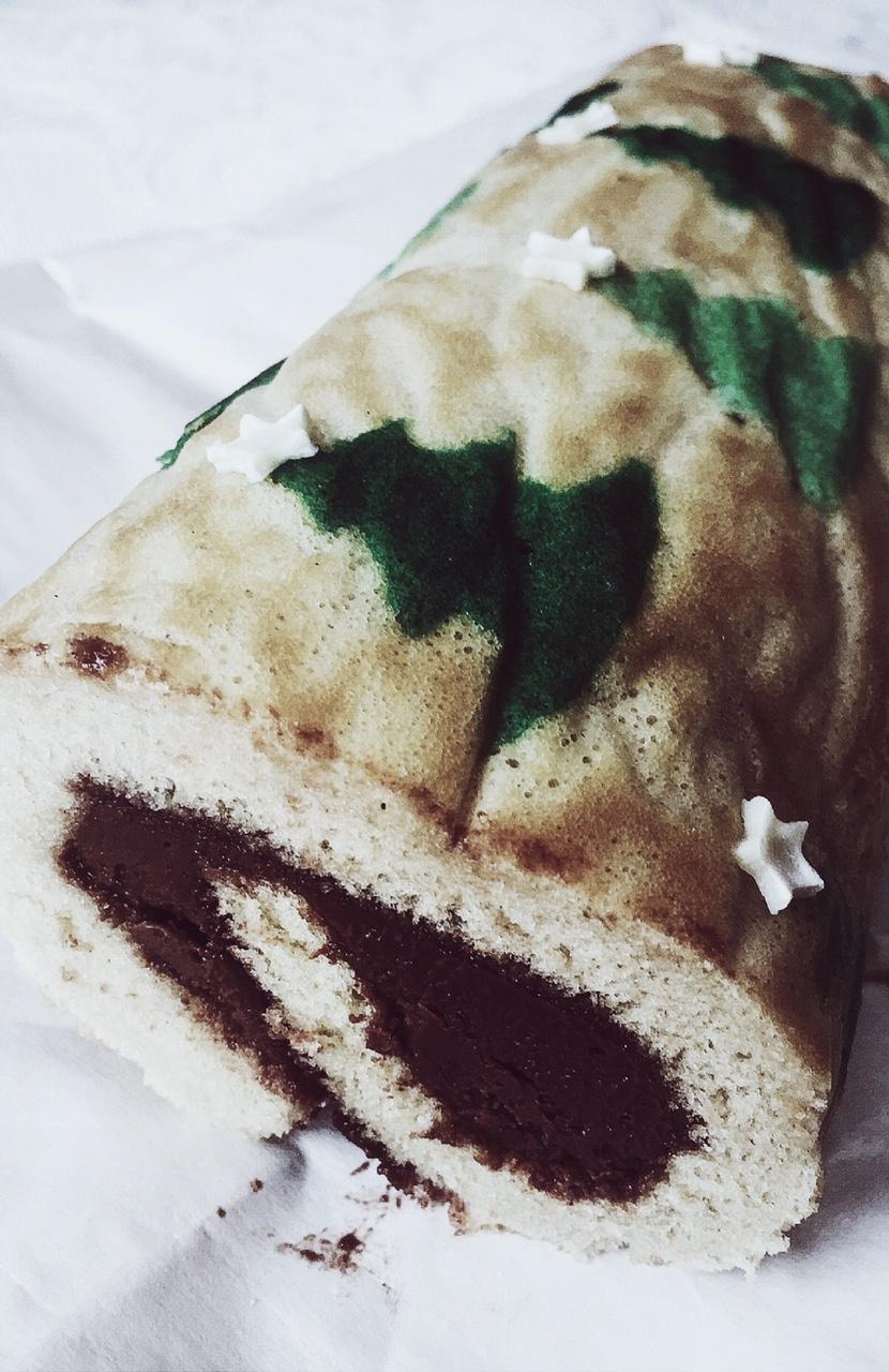 nutella Deco cake roll