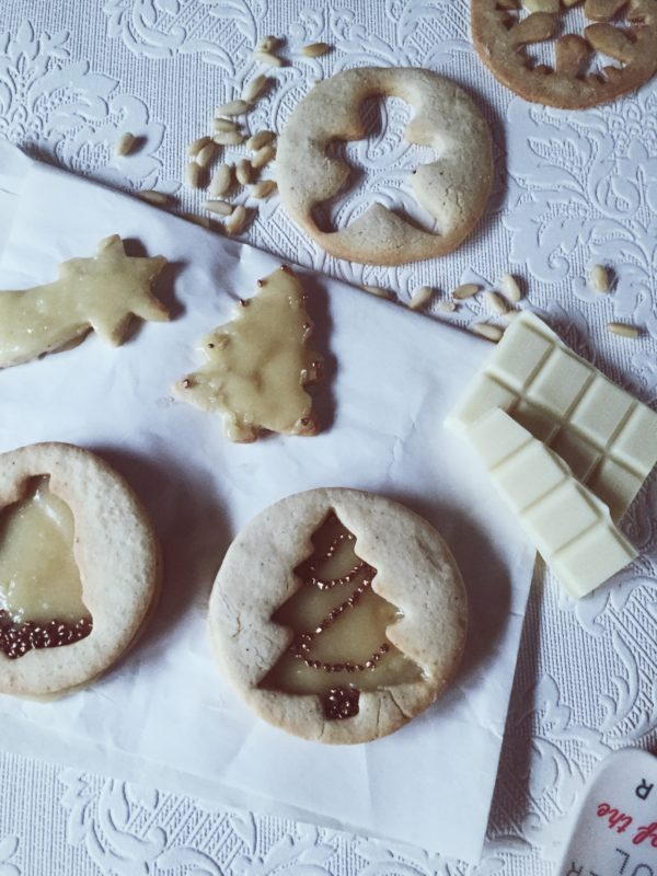 Italian Christmas Cookie Recipes: mascarpone frosting sugar cookies