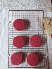 Pomegranate icing recipe #gourmetproject #christmasrecipes