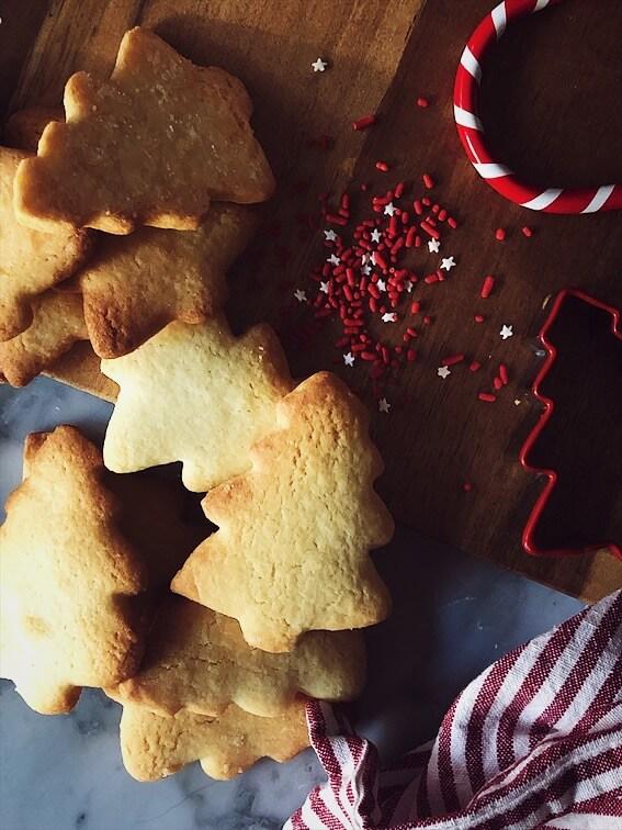 sugar cookies recipe cookies and Christmas tree cookie cutter