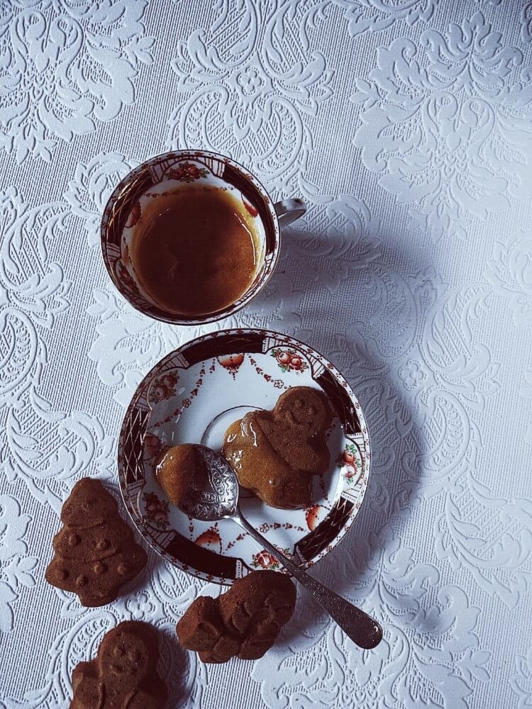 Zabaglione recipe with gingerbread cookies #gourmetproject