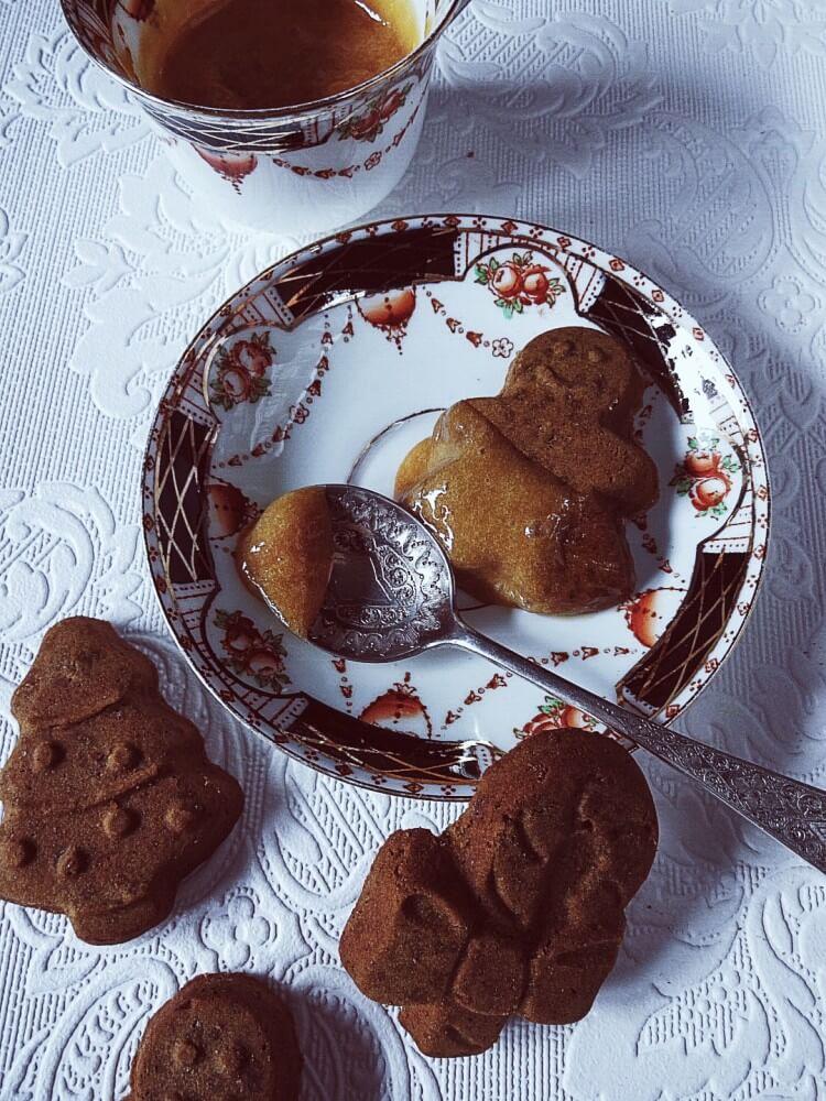 Zabaglione recipe with gingerbread cookies #gourmetproject #italianrecipes