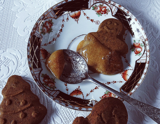 zabaglione recipe with gingerbread cookies