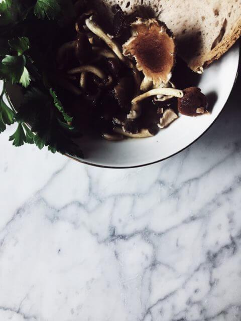 parmesan broth with mushrooms #gourmetproject #italianrecipes
