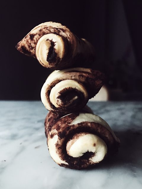 a nutella pizza recipe: stromboli by Gourmet Project