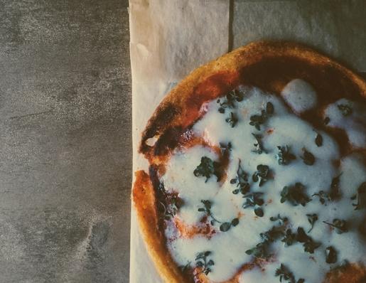 my polenta pizza recipe & how to make pomegranate molasses