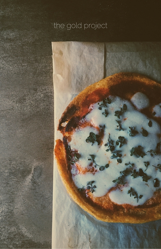 my polenta pizza recipe & how to make pomegranate molasses