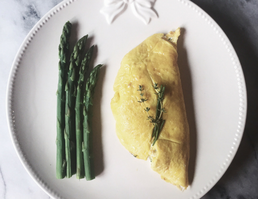 veggie omelette recipe by Gourmet Project