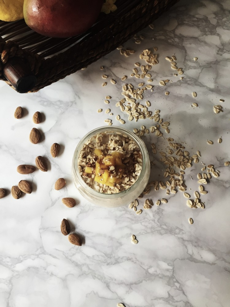 fermented oatmeal by gourmet project | the bubble project