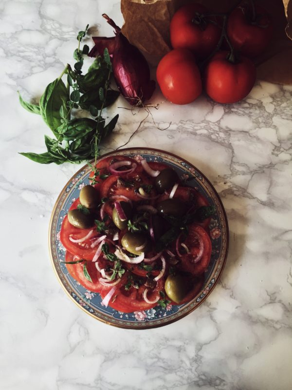 an Italian tomato salad recipe by Gourmet Project_an Italian cooking blog (3)