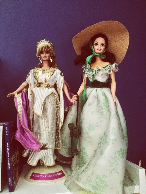 my collectible barbies