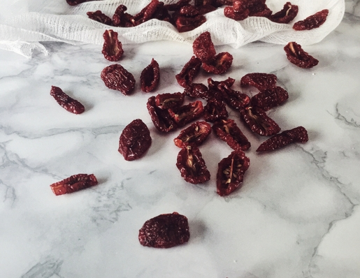 how to make sun dried tomatoes by Gourmet Project