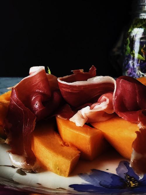 Italian prosciutto and melon