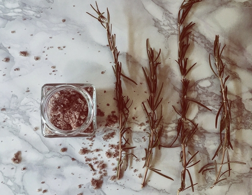 seasoned salts_wine and rosemary salt by Gourmet Project