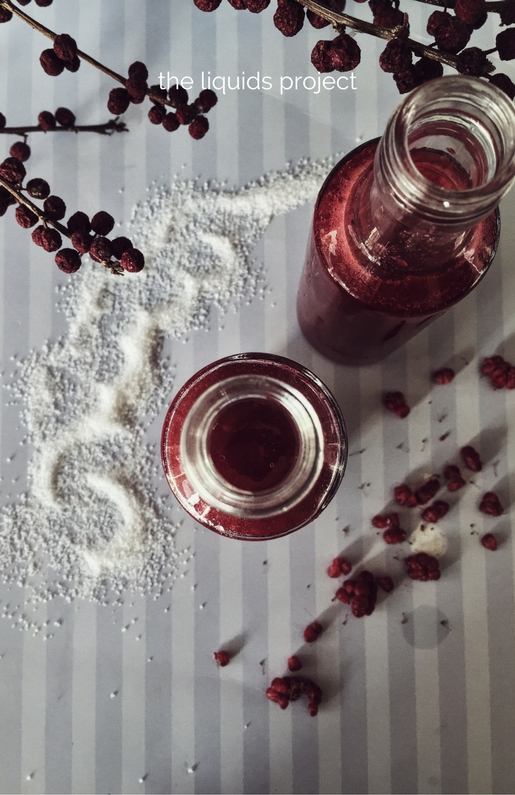 himbeersirup: a raspberry syrup