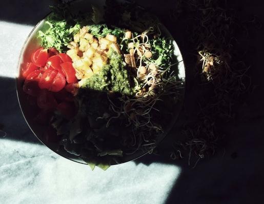 Italian salad recipes: a warm potato salad