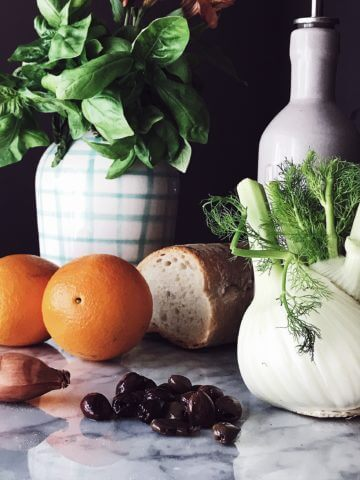 fennel and orange salad dressing ingredients