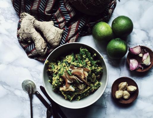 urab buncis aka the green bean salad recipe