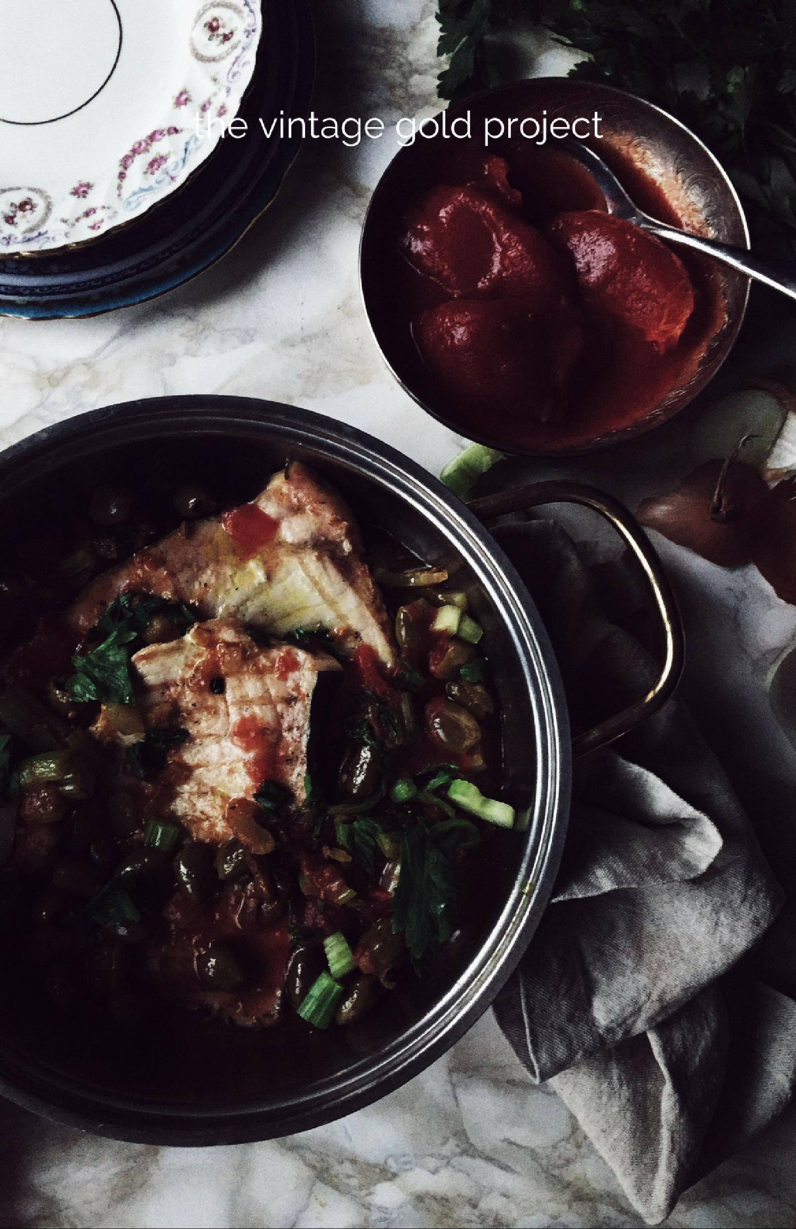 Italian fish recipes: Sicilian swordfish