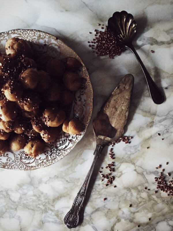 struffoli recipe from Italy