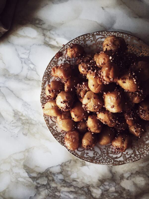 struffoli recipe from Naples #gourmetproject #italiancake