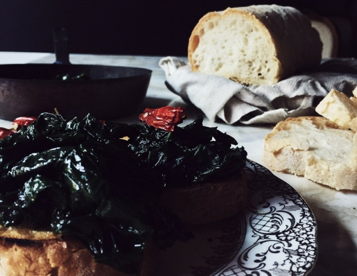 An Italian kale recipe from my Christmas culinary journey through Italy. Get this and more authentic Italian recipes on Gourmet Project.
