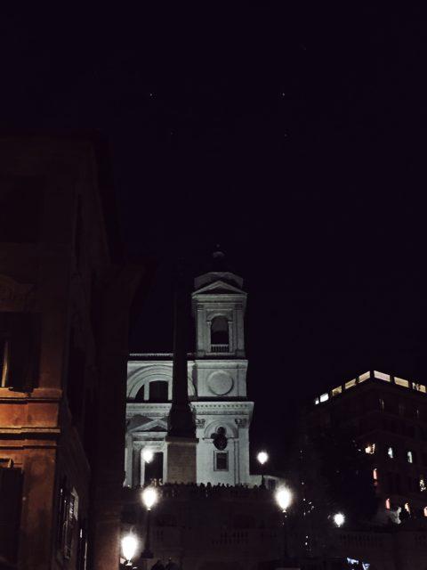 Christmas in Rome: Piazza di Spagna
