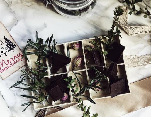 herbal chocolate: no cooking chocolate enfleurage
