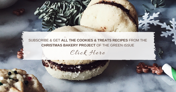 Subscribe and get all the Cookies & treats recipes from the Christmas bakery Project of the Fall Issue