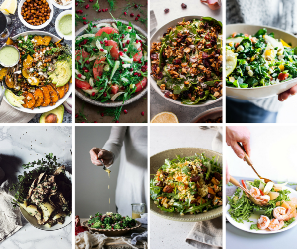 Winter Salad Recipes from Hypertalented Bloggers