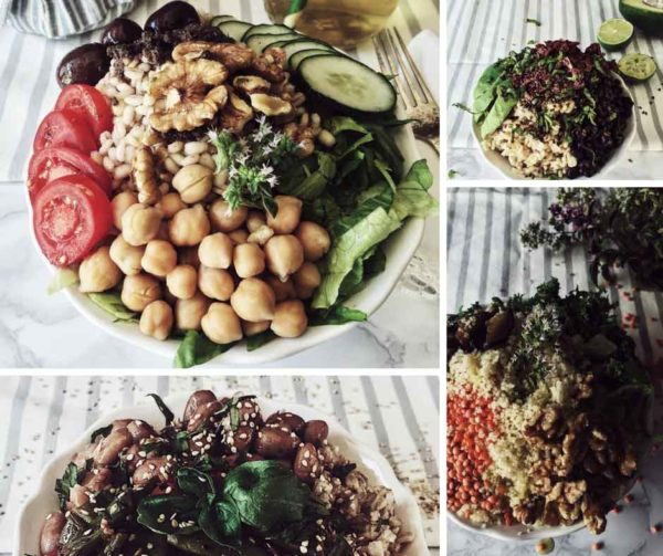 Healthy, Vegan and Vegetarian Buddha Bowl Recipes & How to Make a Buddha Bowl