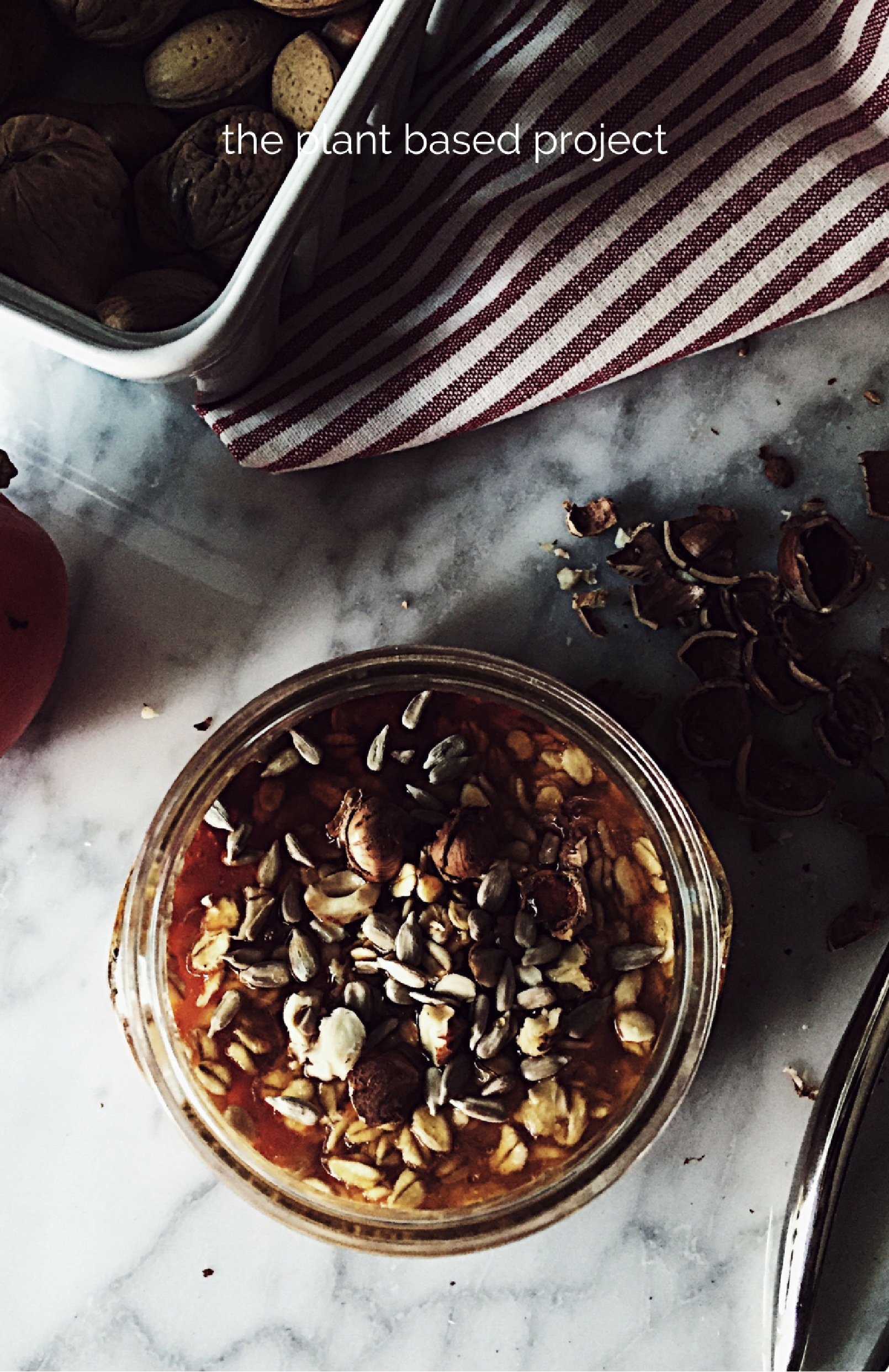 persimmon overnight oatmeal recipe + the stocking