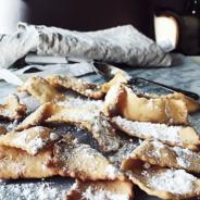 Italian pastry recipes: frappe