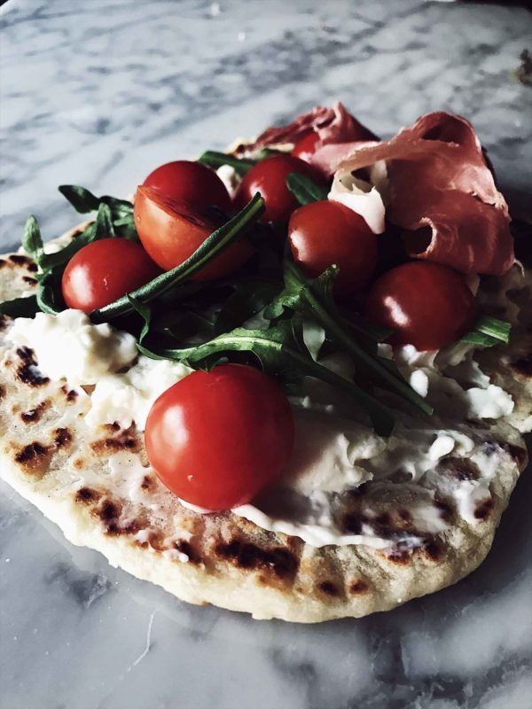 An Italian flat bread recipe: piadina romagnola
