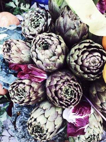 artichokes in Rome's Jewish Ghetto