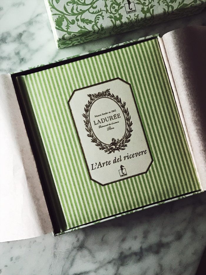 cookbook for Christmas: Laduree